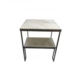 Marble-Grained Tabletop Artemis Coffee Table