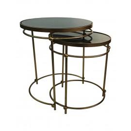 Criss-Cross Marble Poseidon Coffee Table