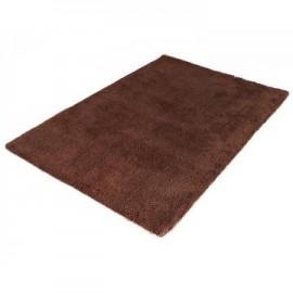 Kola Brown Shaggy Woolly Rug