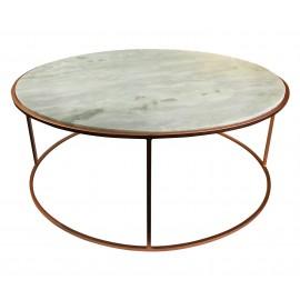 White Marble Apollo Coffee Table