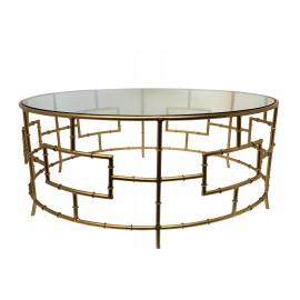 Round Glass Hera Coffee Table