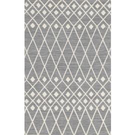Polypropylene gray color Kilim