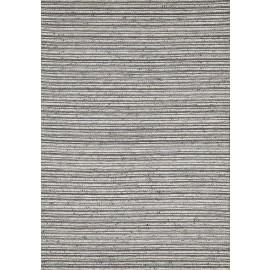 Gray color Viscose Kilim with backing