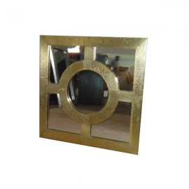 Brass Mirror Photo Frame