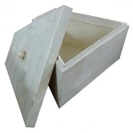 Bone White Jewellery Box