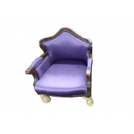 Canvas Sofa Purple Z0095