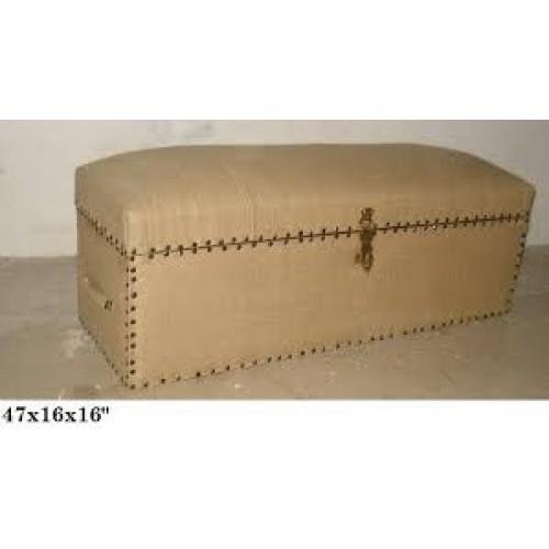 Jute FTd Wooden Trunk Box